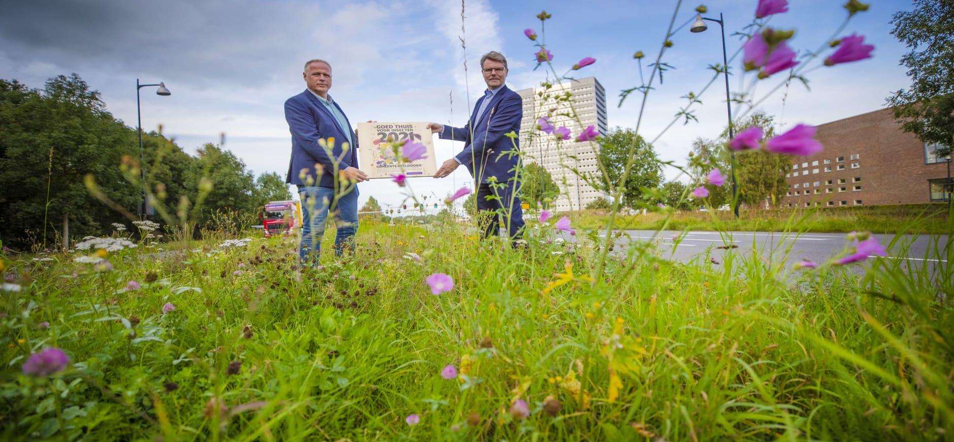 Gemeente Apeldoorn krijgt pluim 'Goed Thuis voor Insecten!'