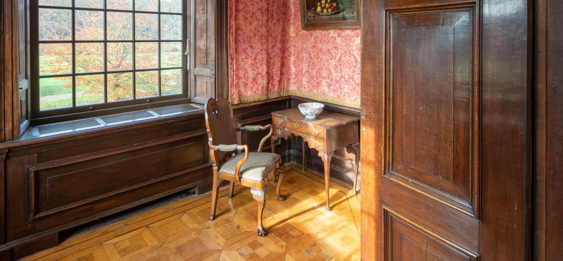 kabinetje bel-etage Kasteel Eerde