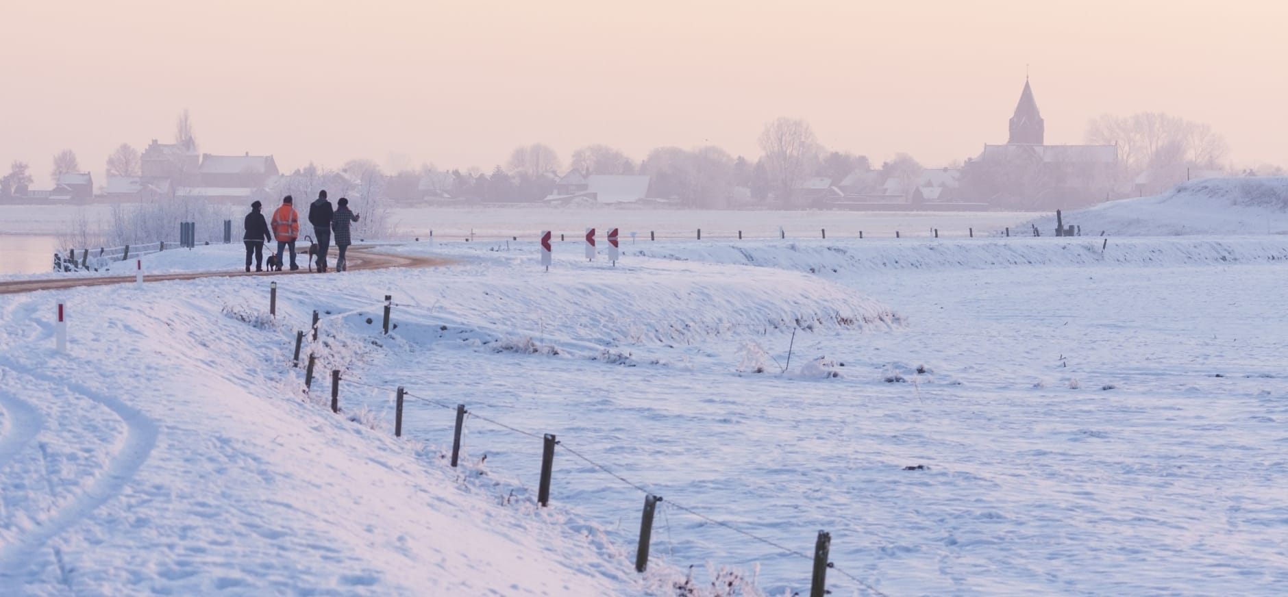 wandelen winter
