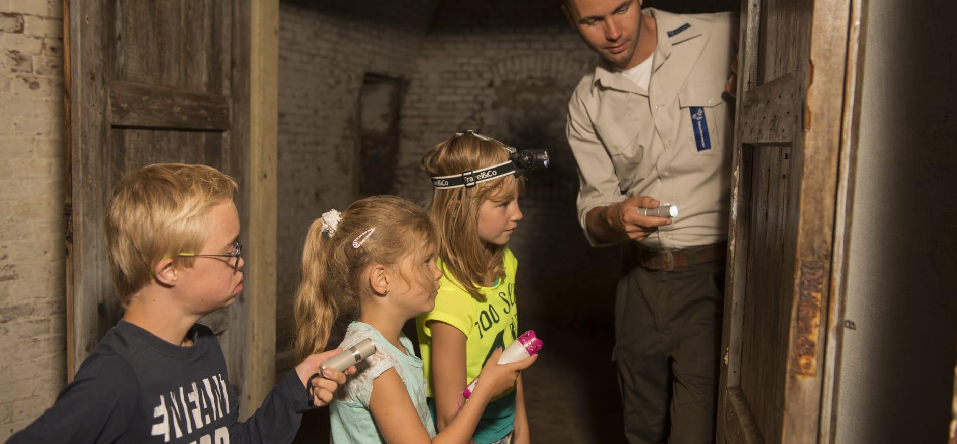 Rondleiding op Fort Nieuwersluis