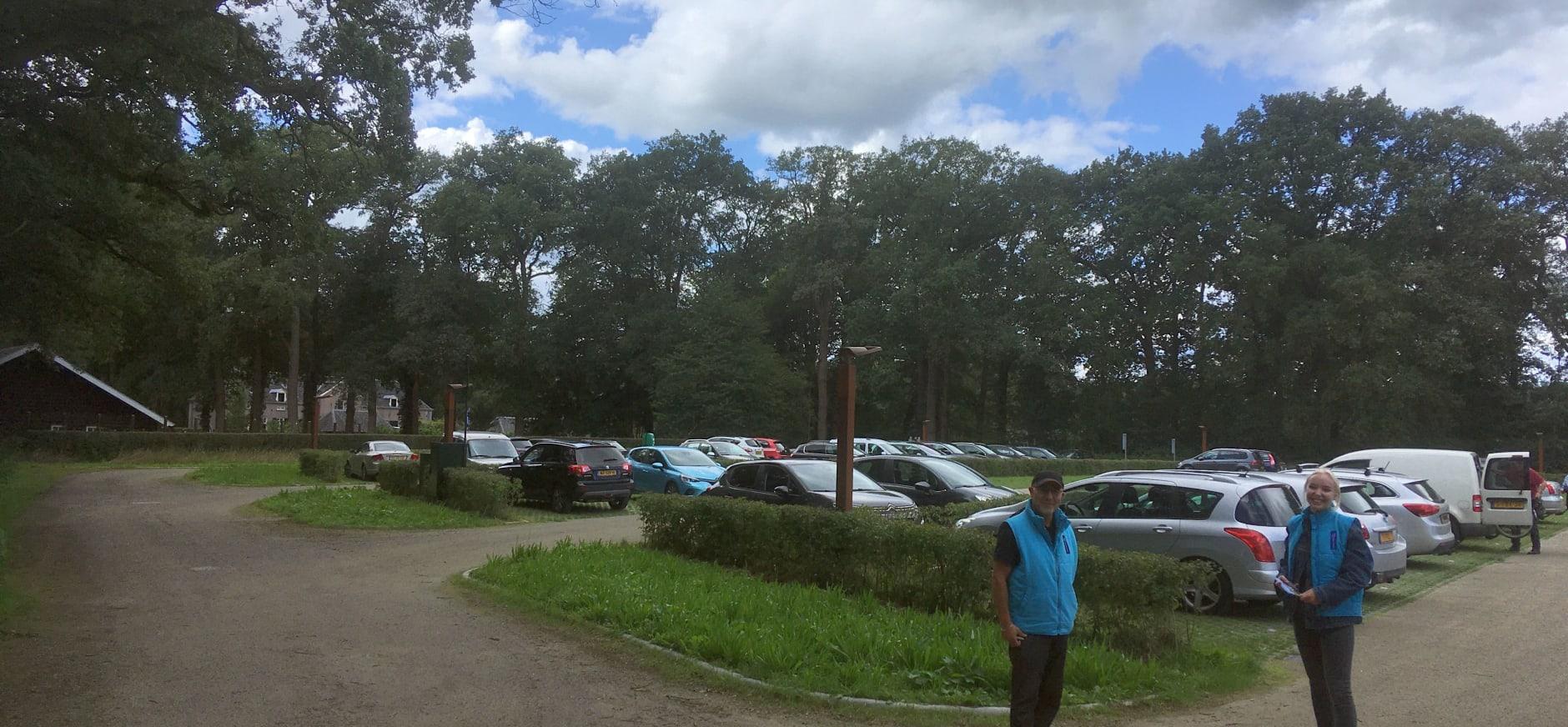 Leden parkeren gratis