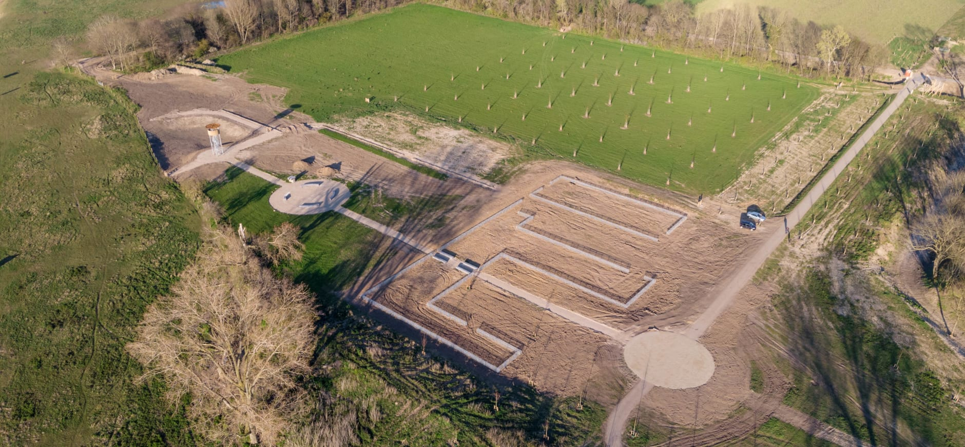luchtfoto Walburg - april 2020