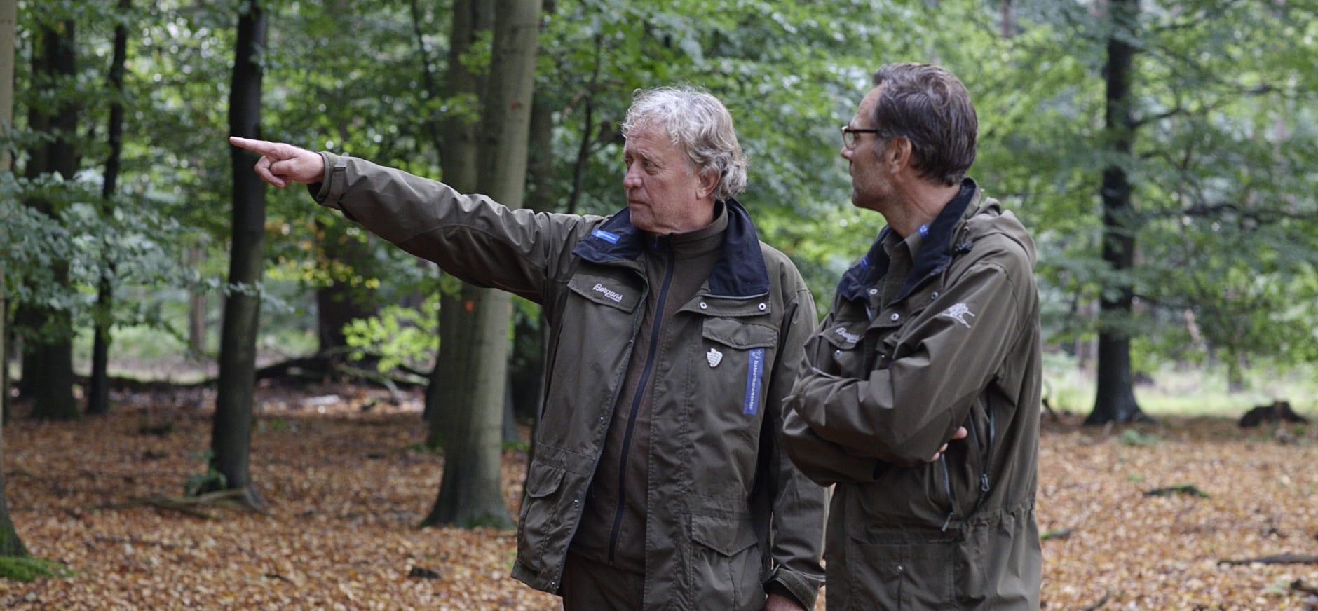 Boswachters Michel en Tim in de Kaapse Bossen