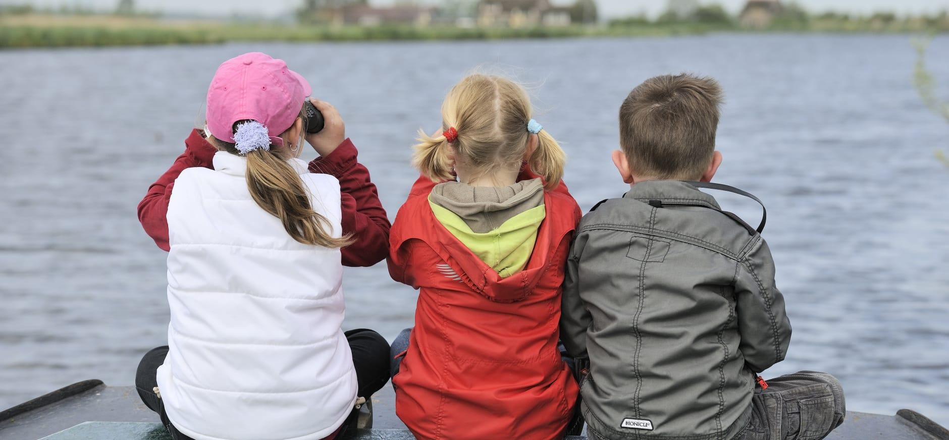 Vlietlanden kinderen varen