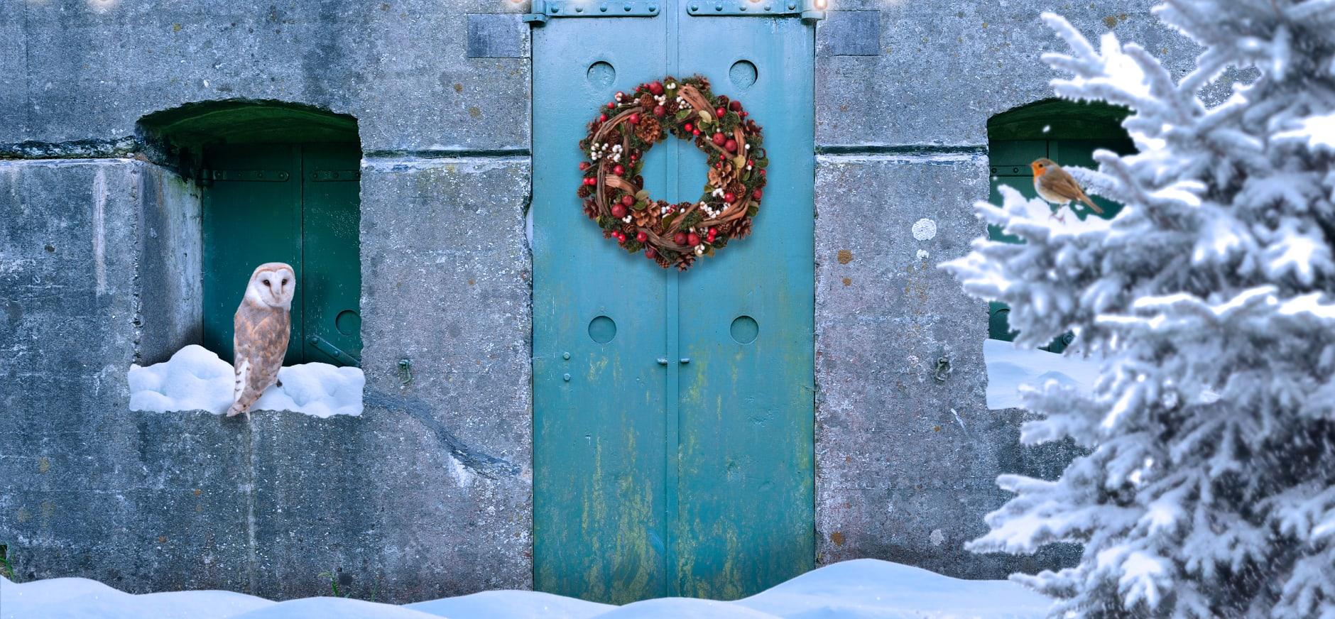 Kerst op Fort bij Nigtevecht