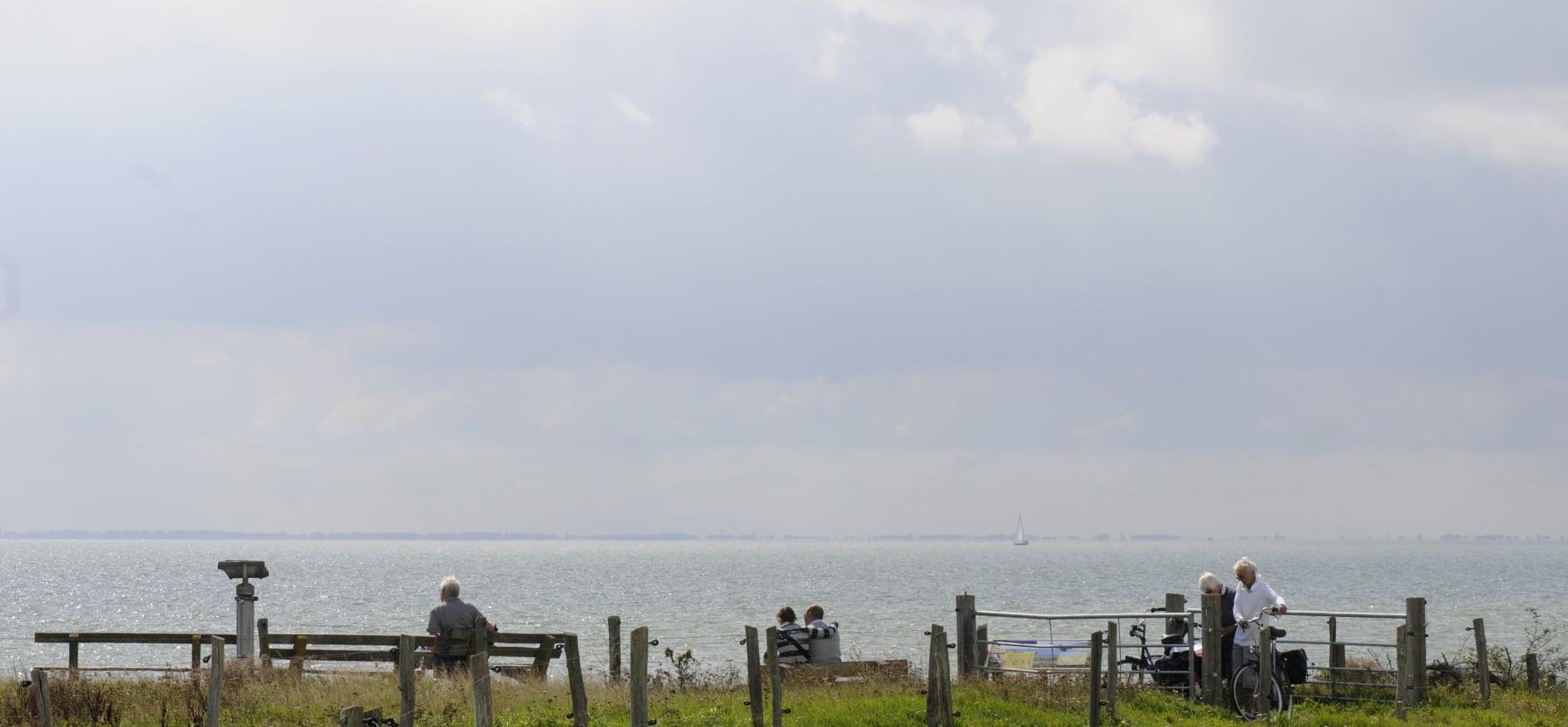 Genieten van het IJsselmeer
