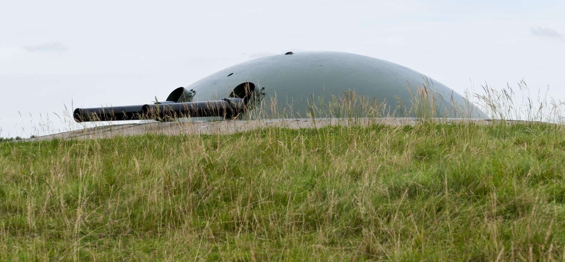 het kanon van Fort bij Spijkerboor