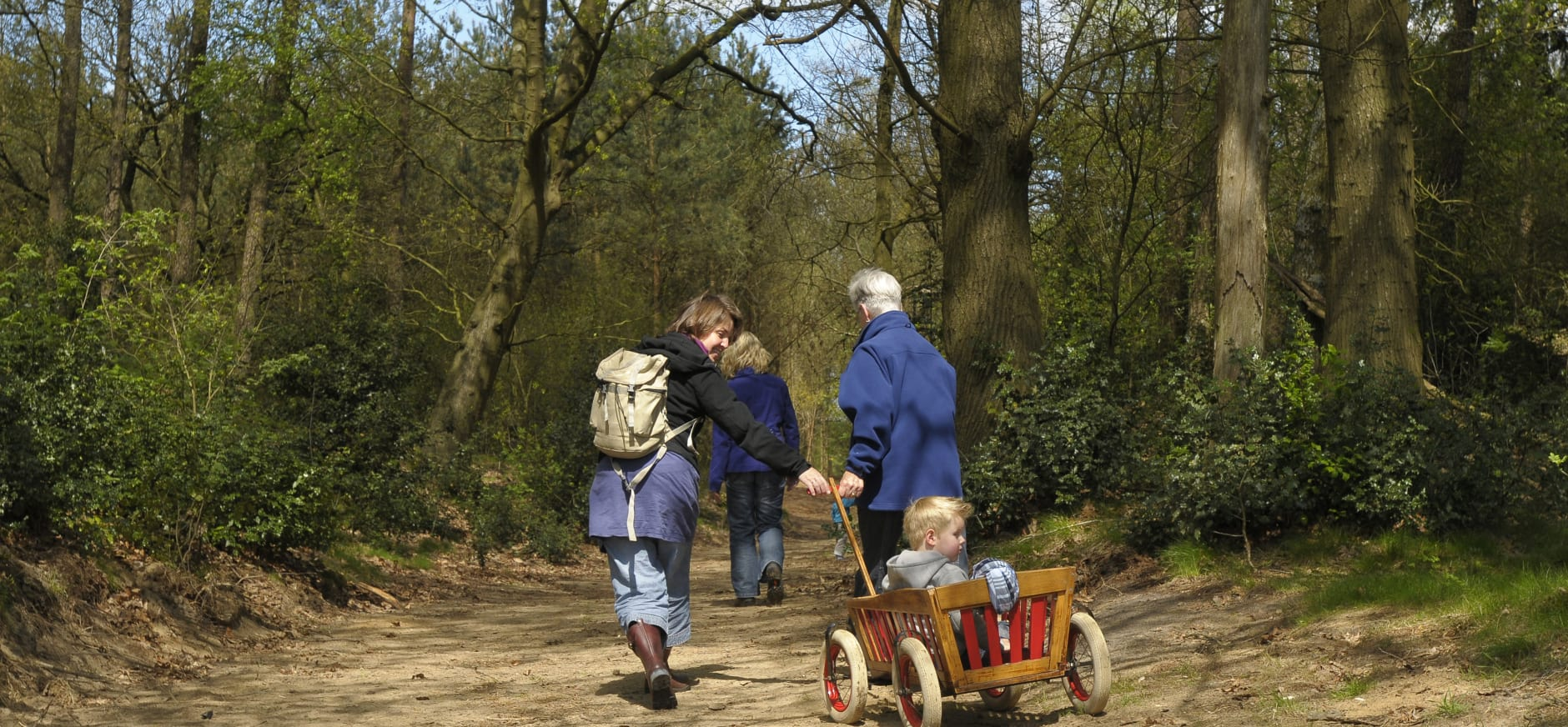 gezin in Holtingerveld