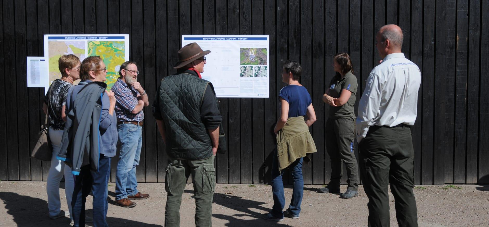 Boswachters in gesprek over de toekomstvisie van Hackfort