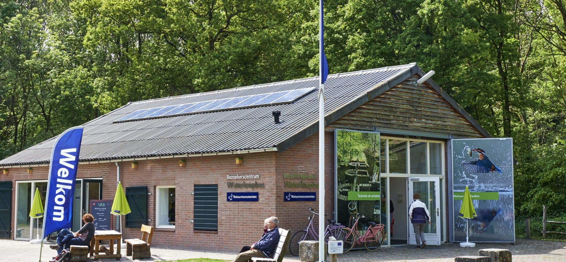Bezoekerscentrum Waterloopbos verhuist