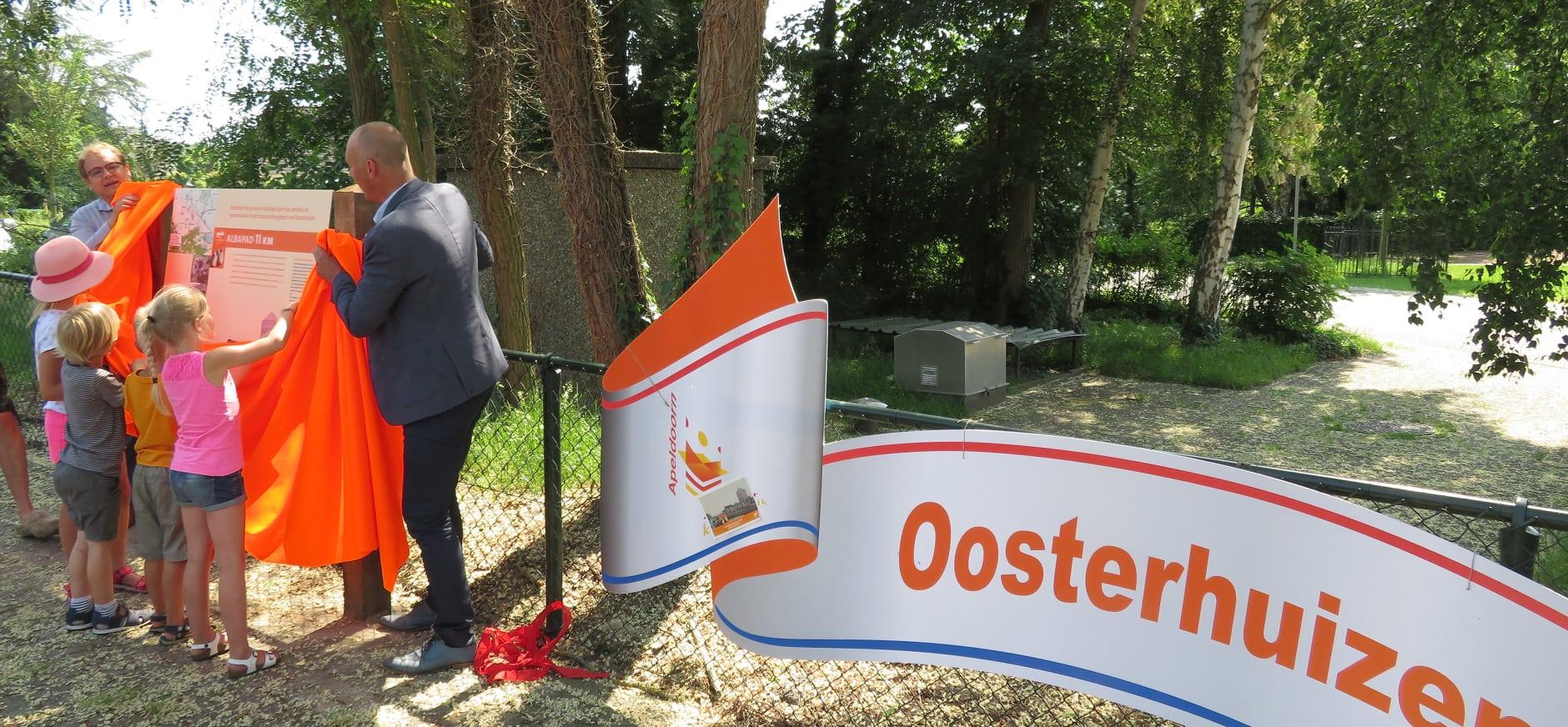 Opening Albapad Oosterhuizen