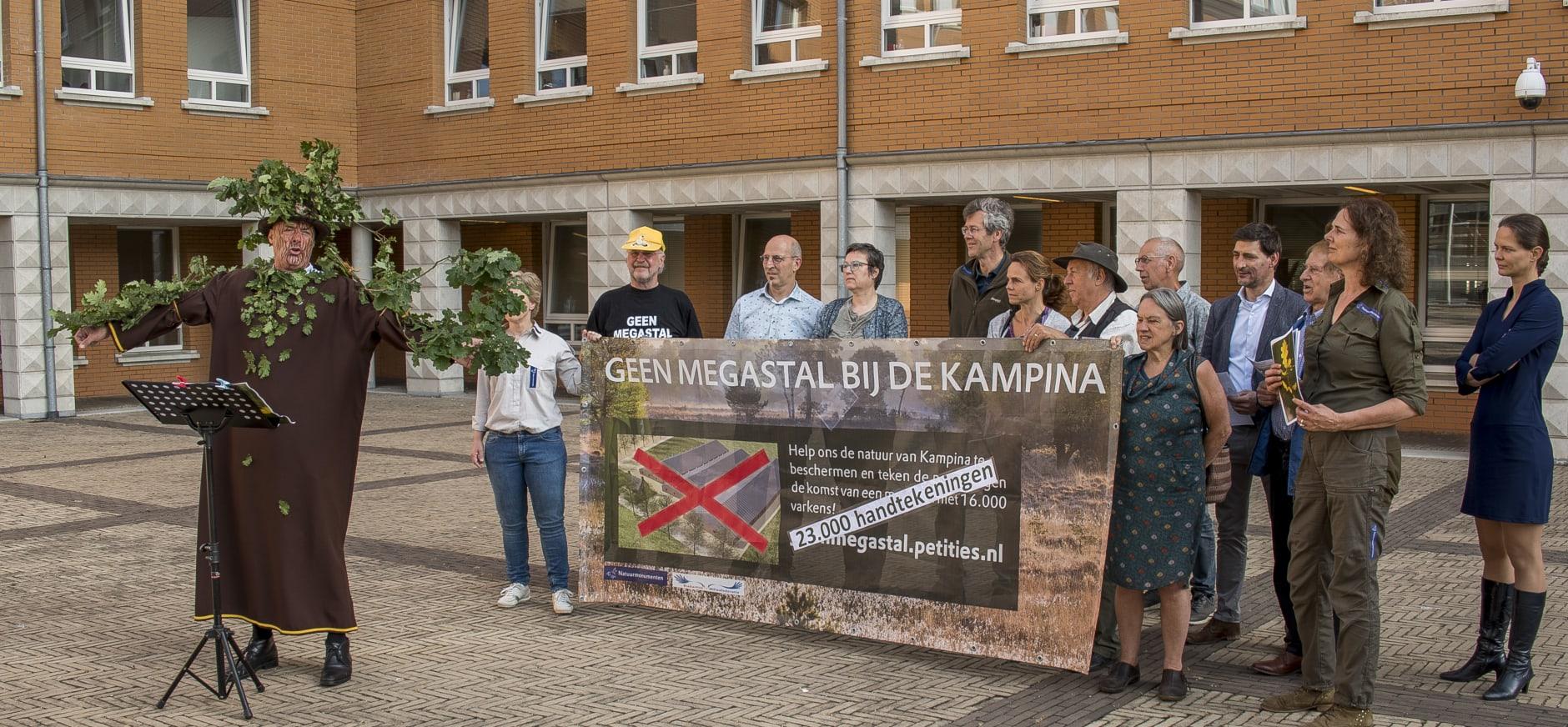 Actie tegen megastal voor gerechtshof