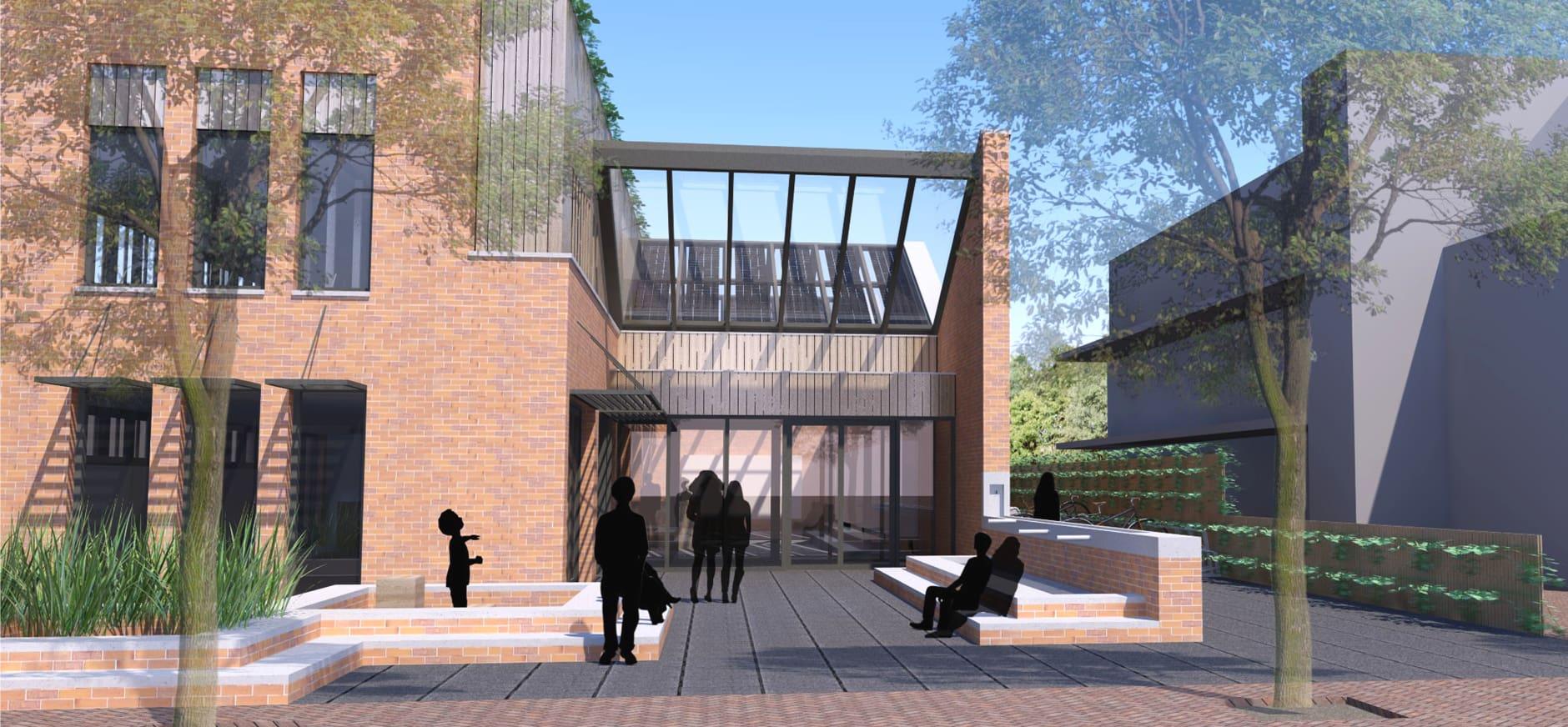 ontwerp nieuwe informatiecentrum Schiermonnikoog