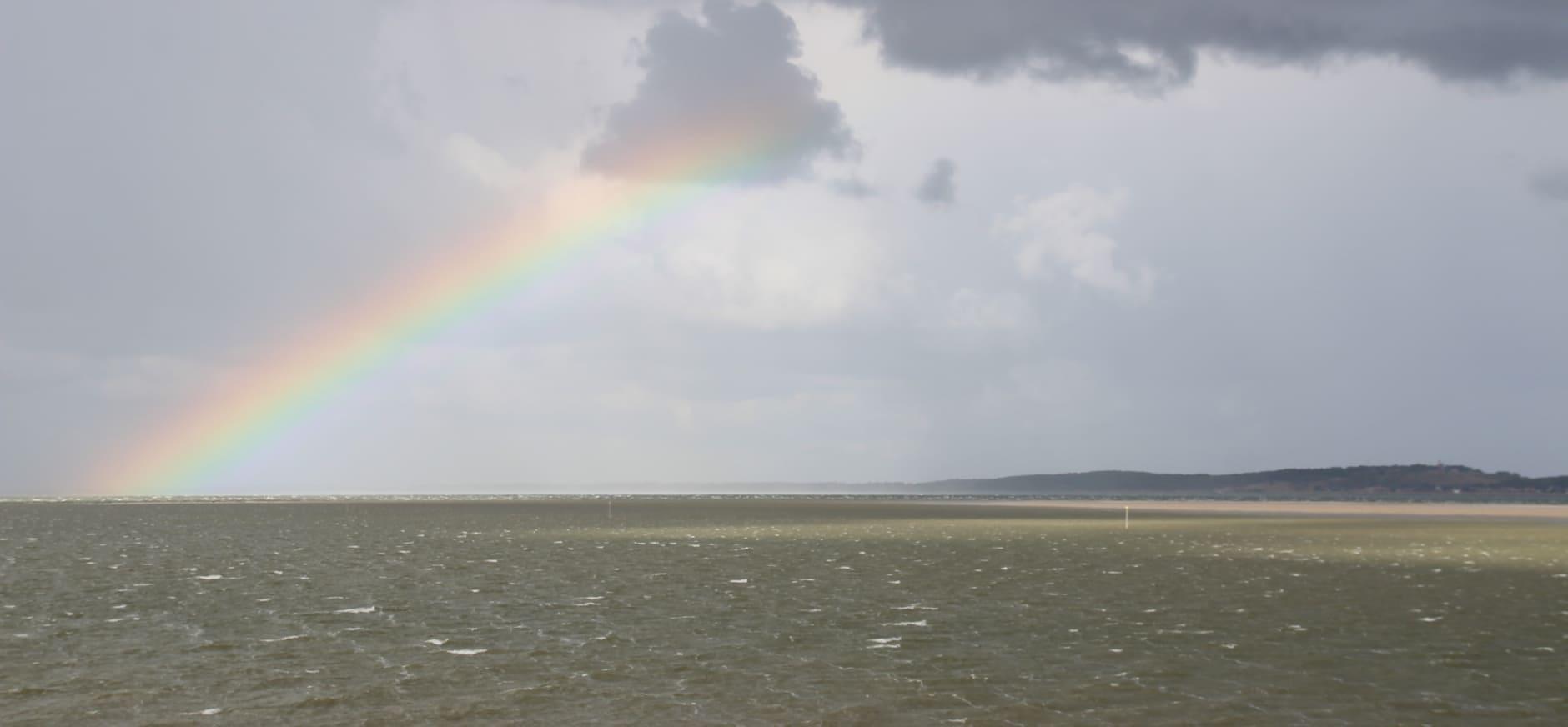 Regenboog op Richel