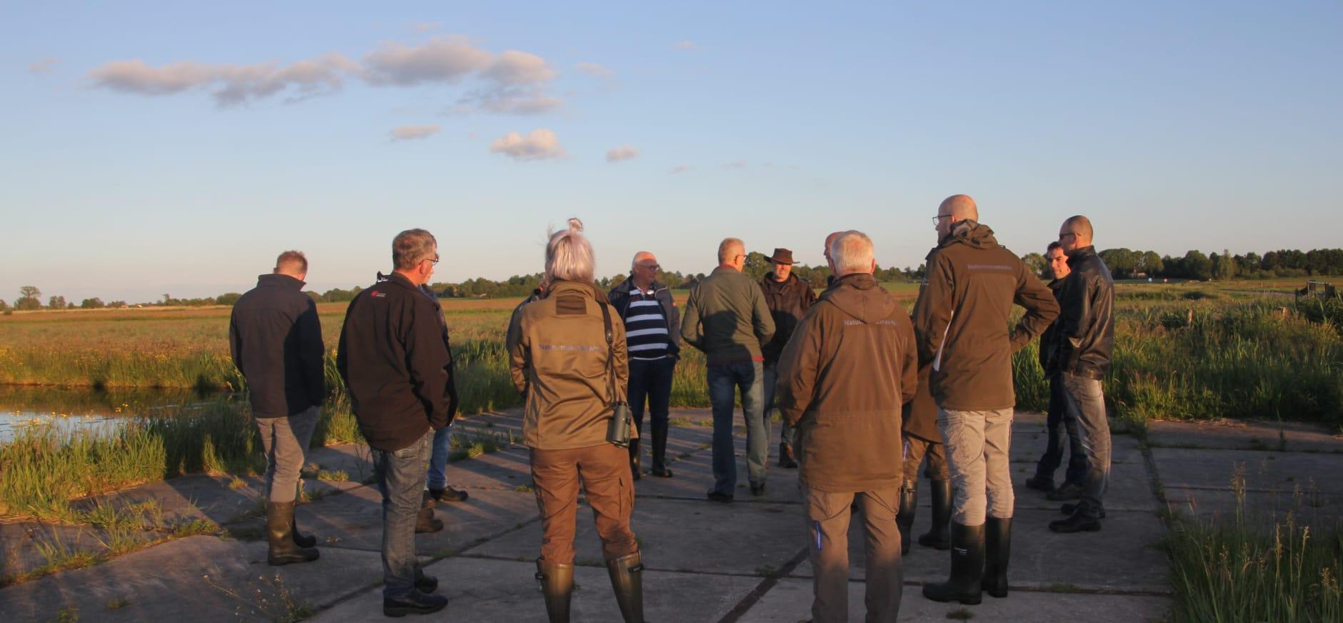 Bijeenkomst weidevogelbeheerders in het Leeuwterveld
