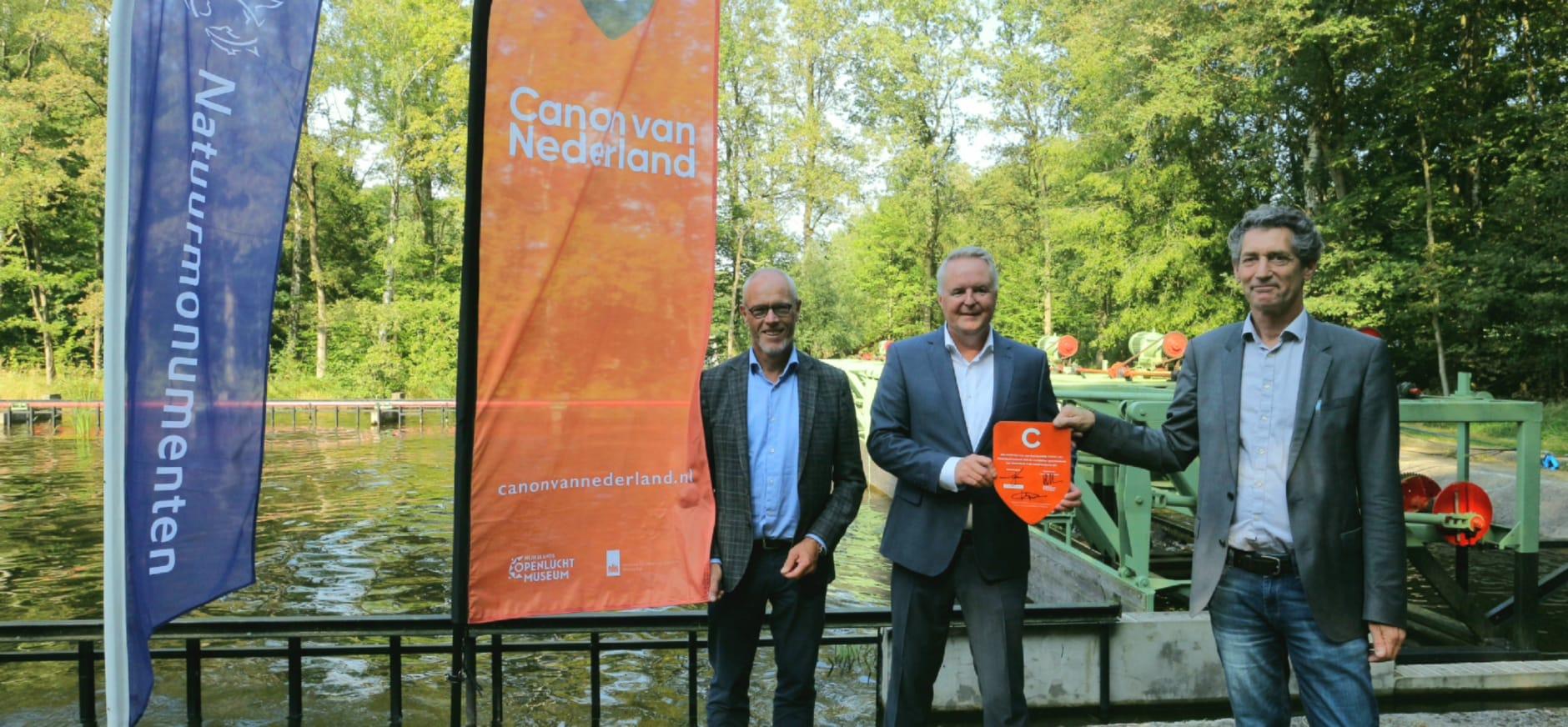 Aansluiting Waterloopbos bij Canon van Nederland-netwerk