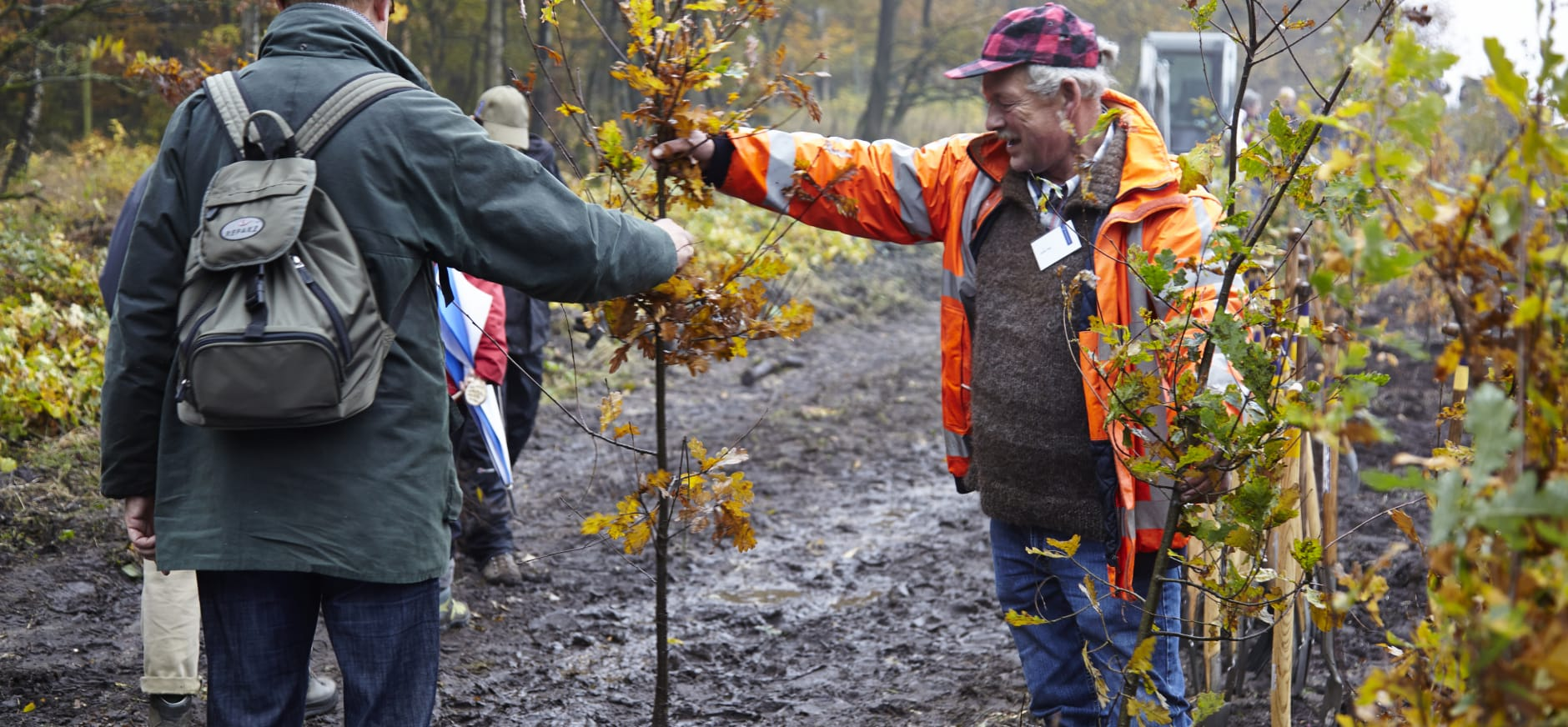 boom planten bij Natuurmonumenten