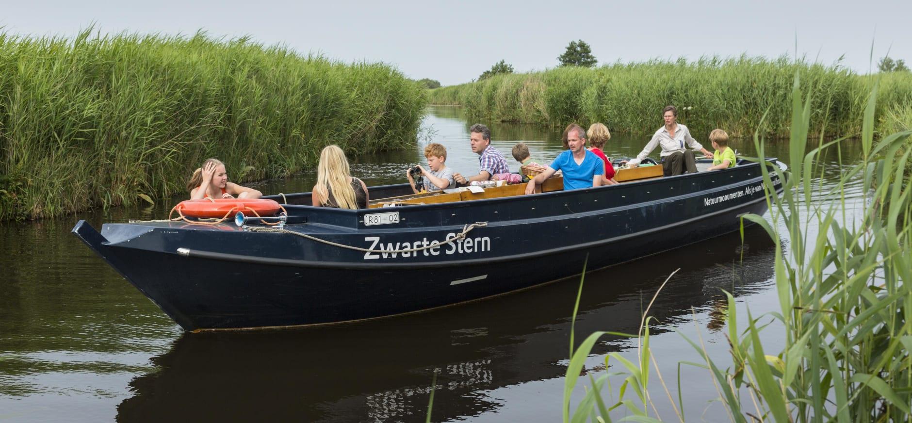 excursieboot De Wieden