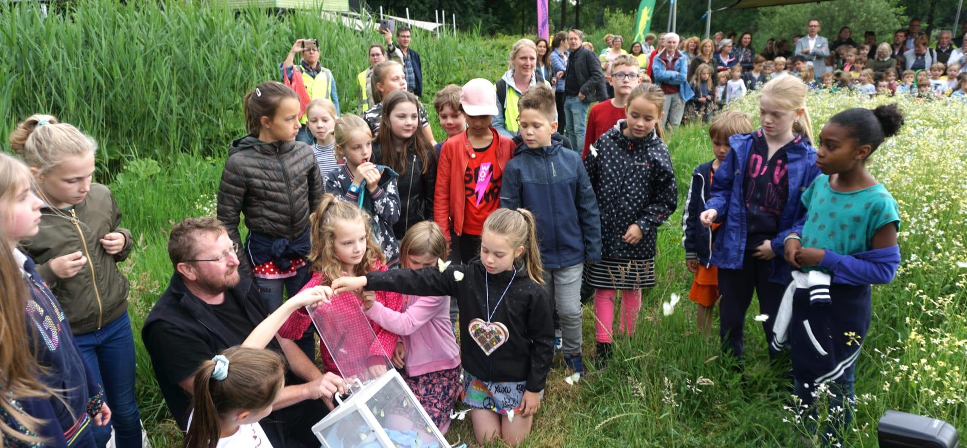 Opening bloemenweide Boekesteyn
