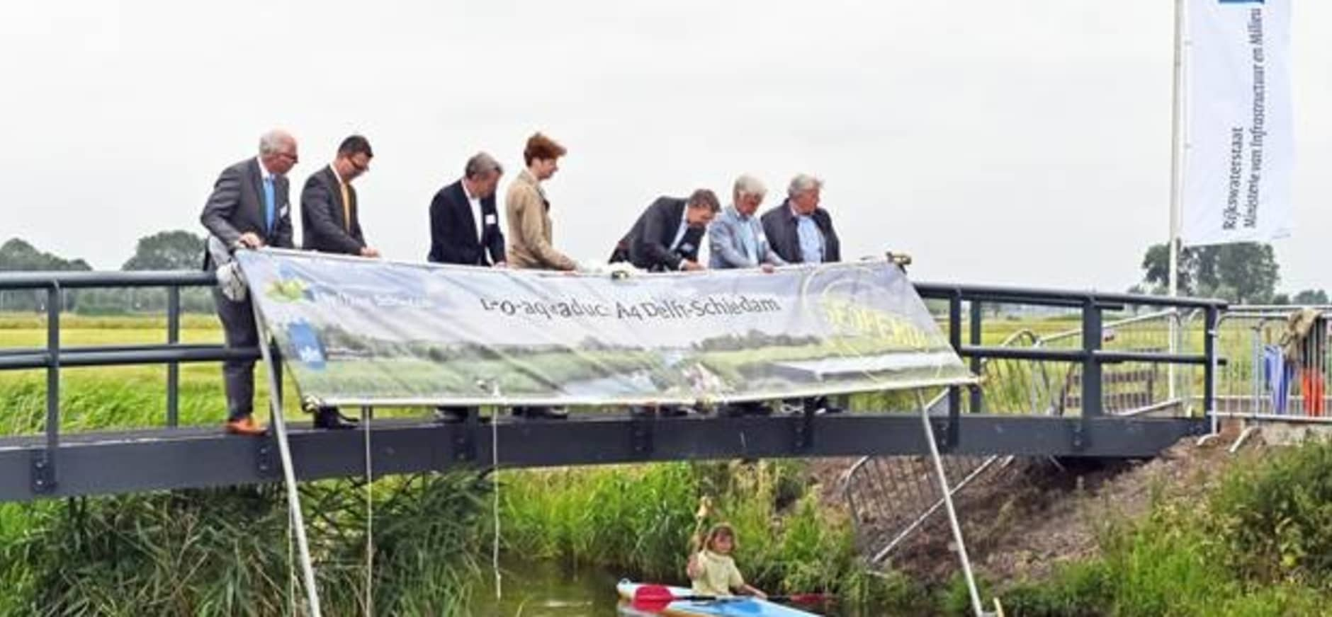 Opening Ecoduct A4
