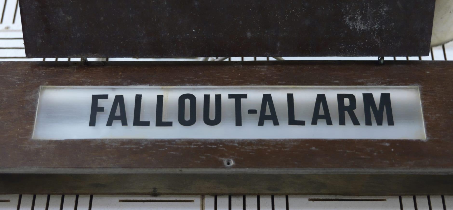 Fallout alarm