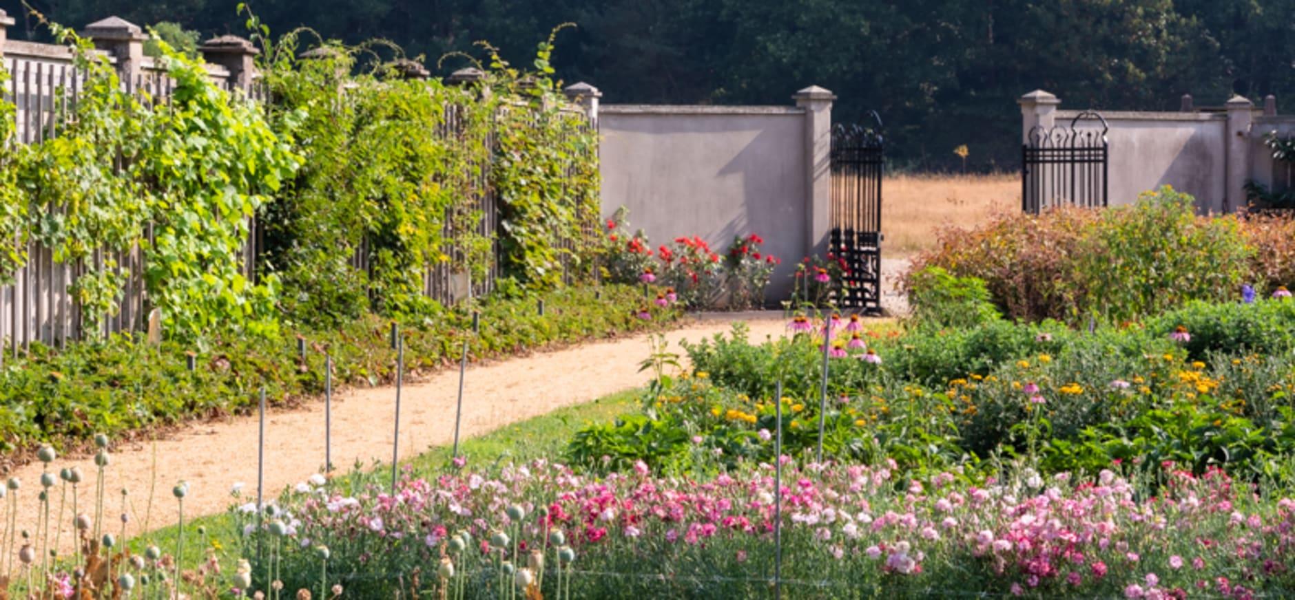 de tuinen zijn open