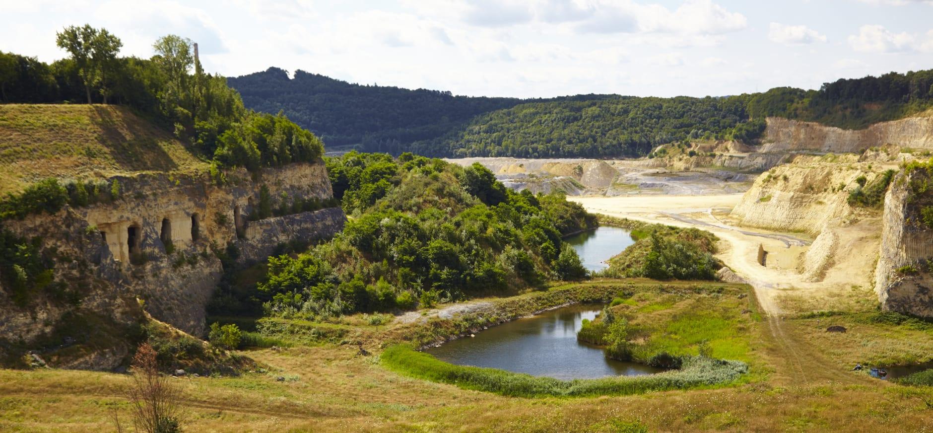De Oehoevallei: een deel van de ENCI-groeve