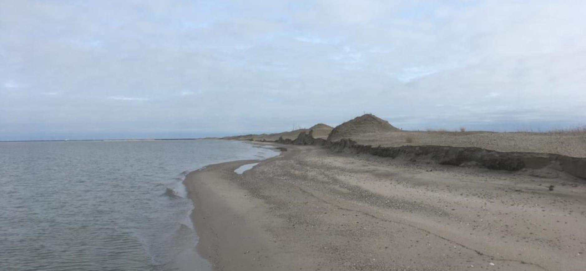 strandrand Marker Wadden