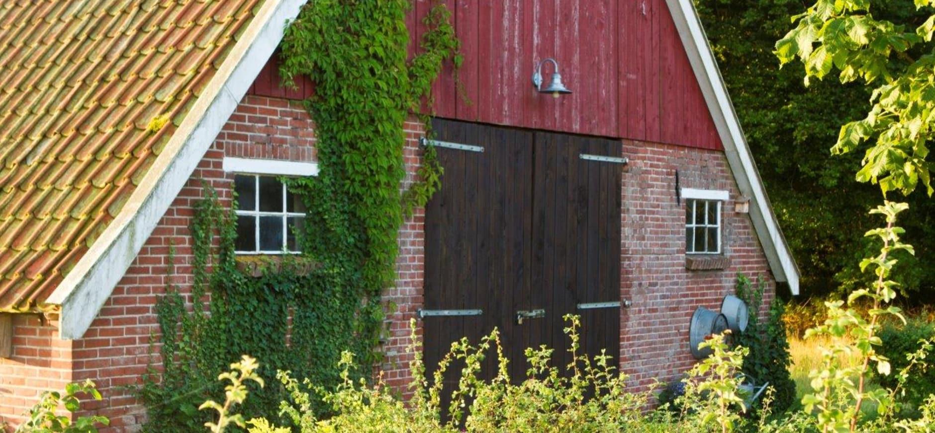 Typische streek eigen bouw in het prachtige coulissenlandschap van Winterswijk