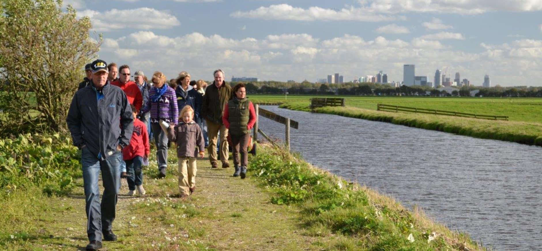 Avontuur in de polder bij Rotterdam