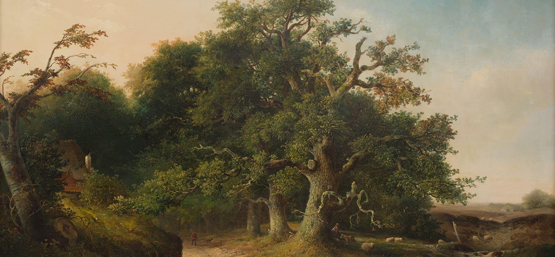 Wodanseiken in Wolfheze - schilderij Jacob Cremer (1849)