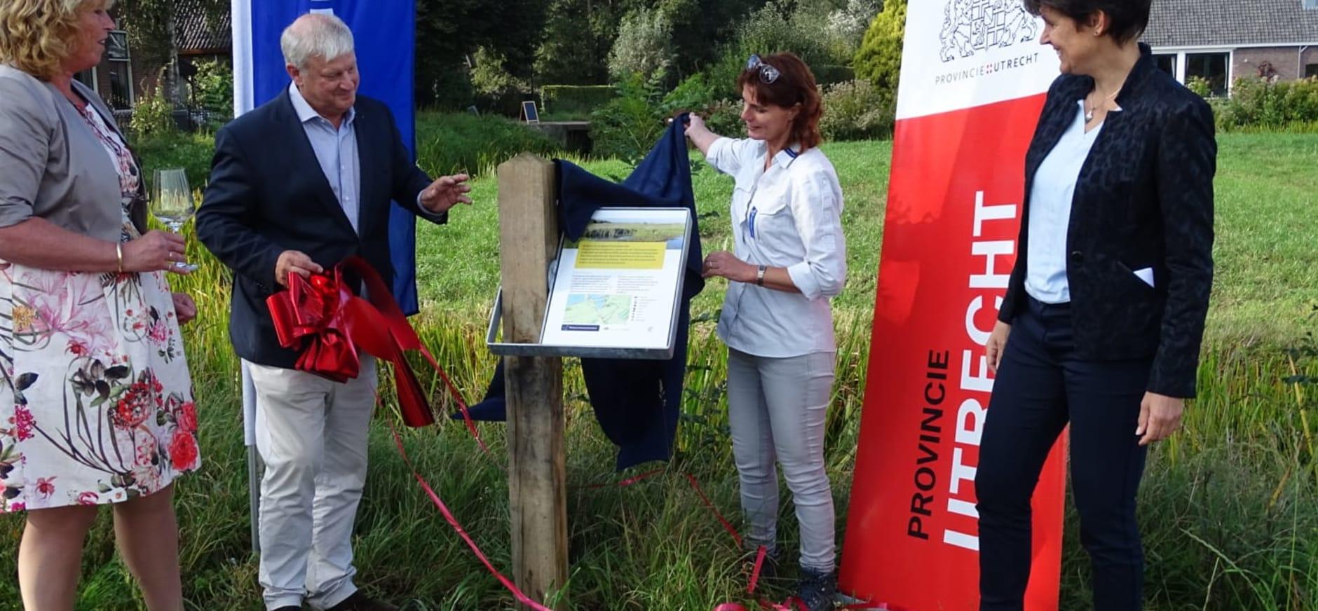 Opening landgoed Dwarsdijkerveld