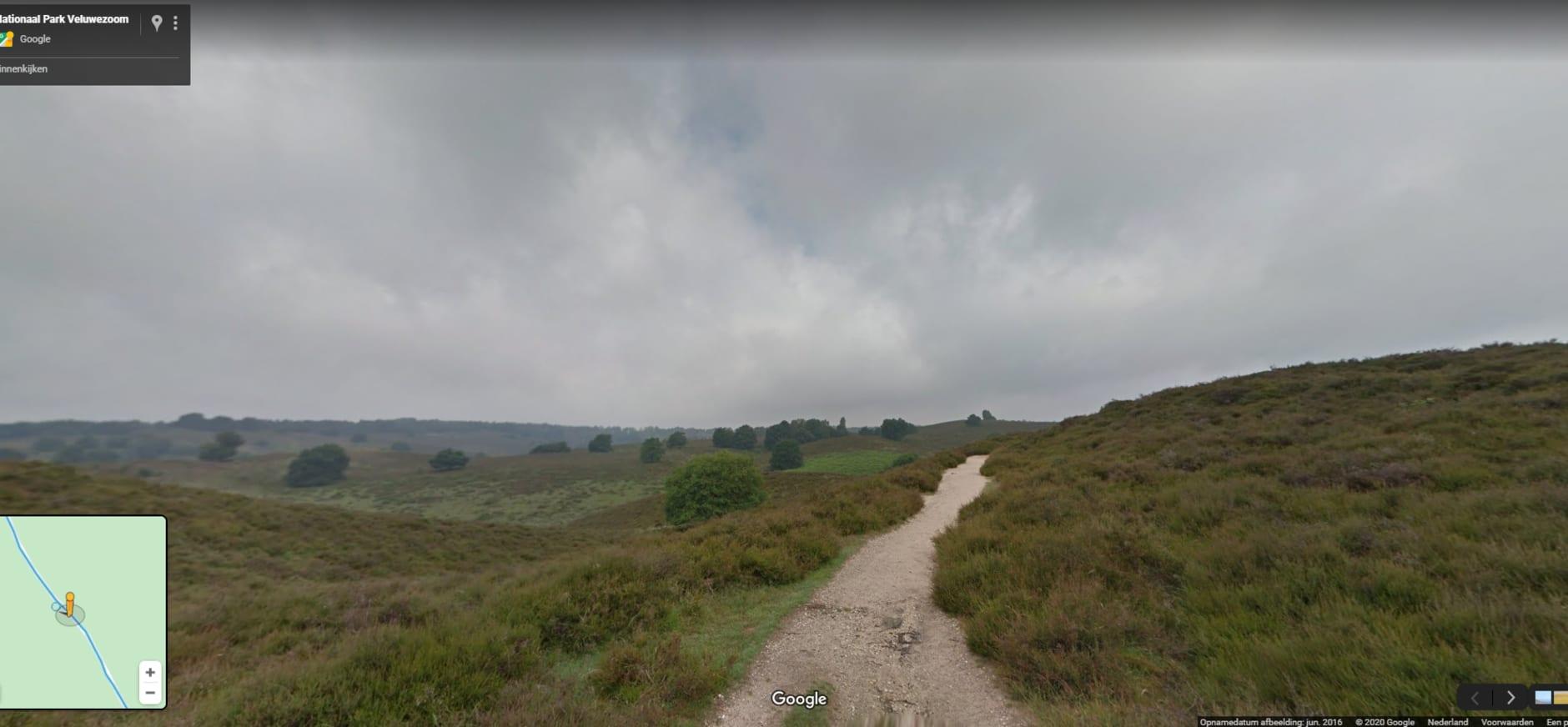Google Street View Veluwezoom