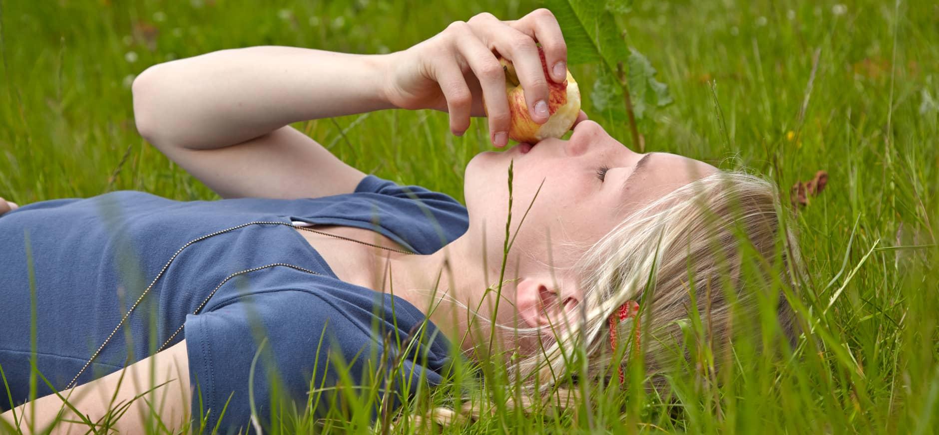 Eten in de natuur