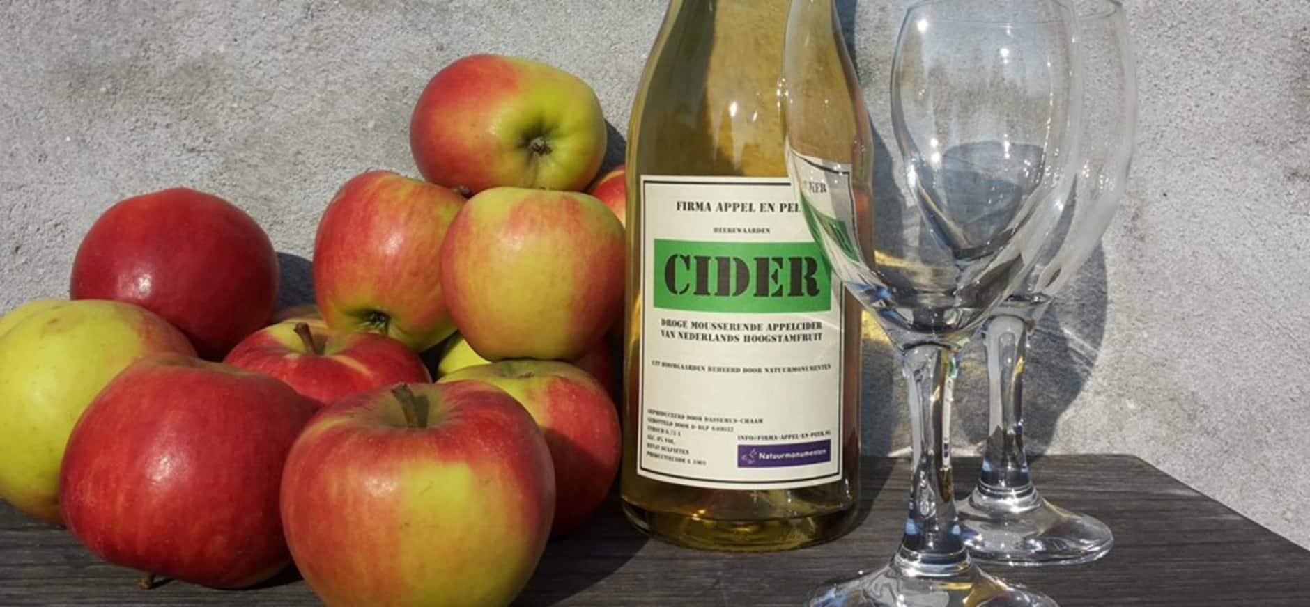 Cider uit de Nederlandse natuur