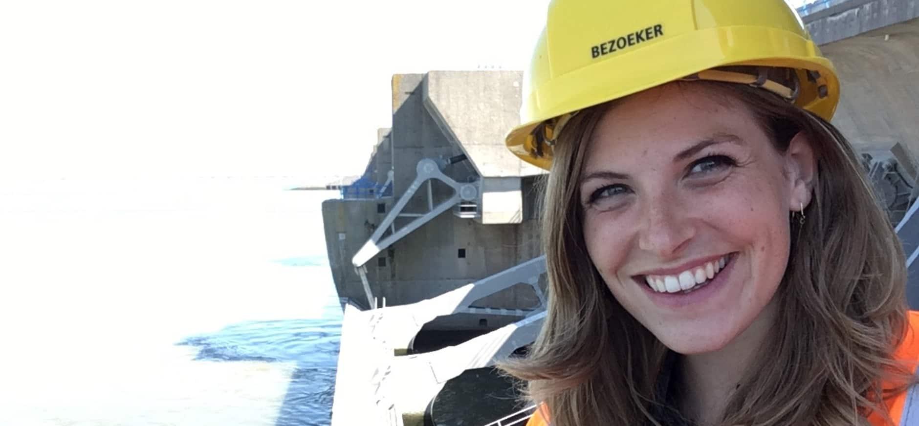 Camilla Dreef gaat vloggen over het Haringvliet