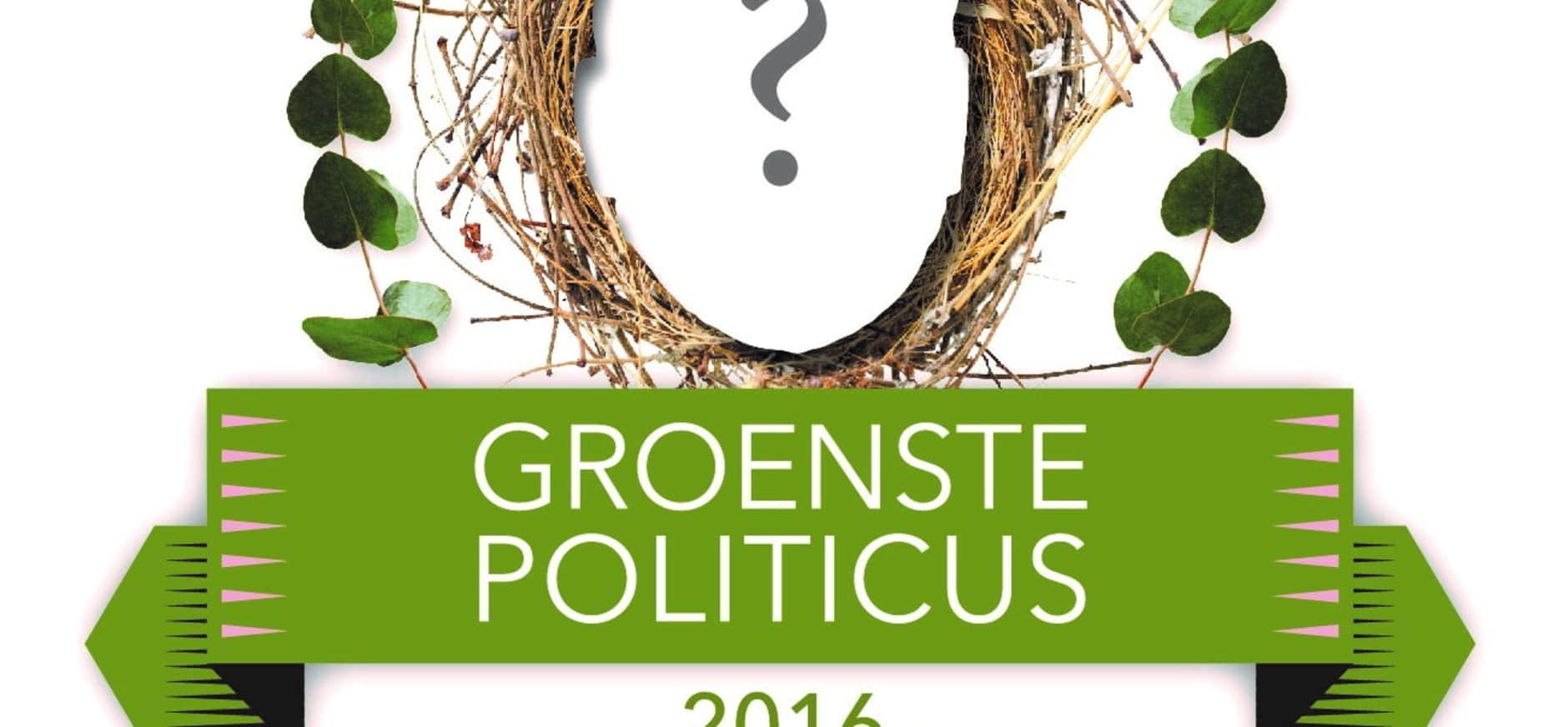 Wie wordt de Groenste Politicus van 2016?