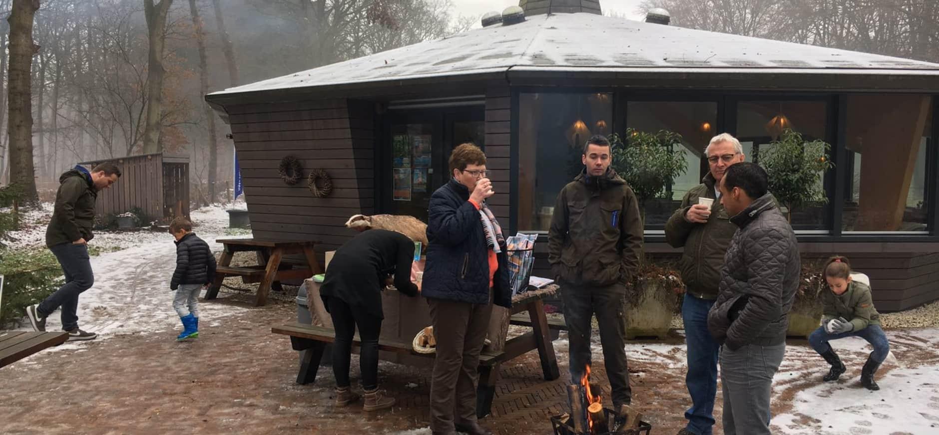 Succesvol warm welkom Oud Groevenbeek