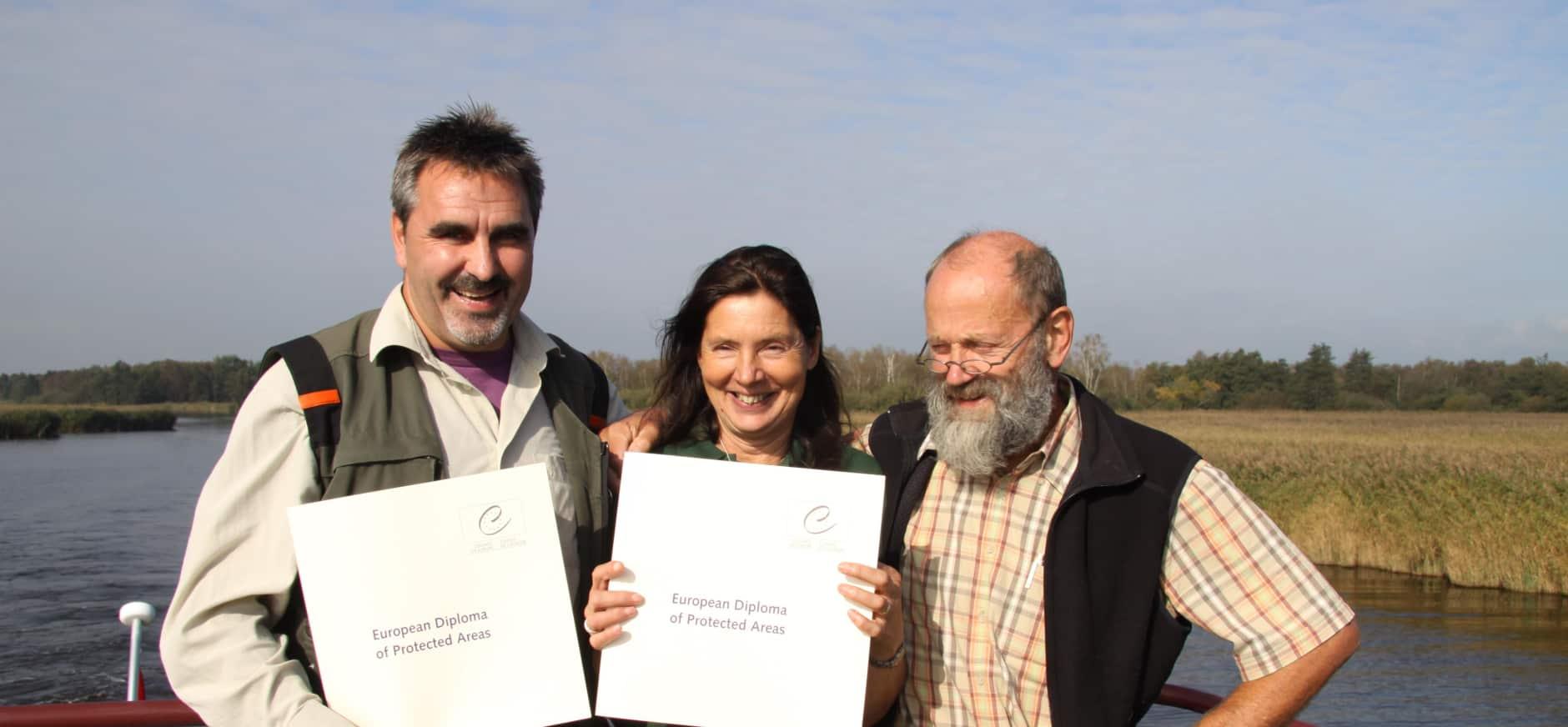 Opnieuw Europees Diploma voor De Wieden