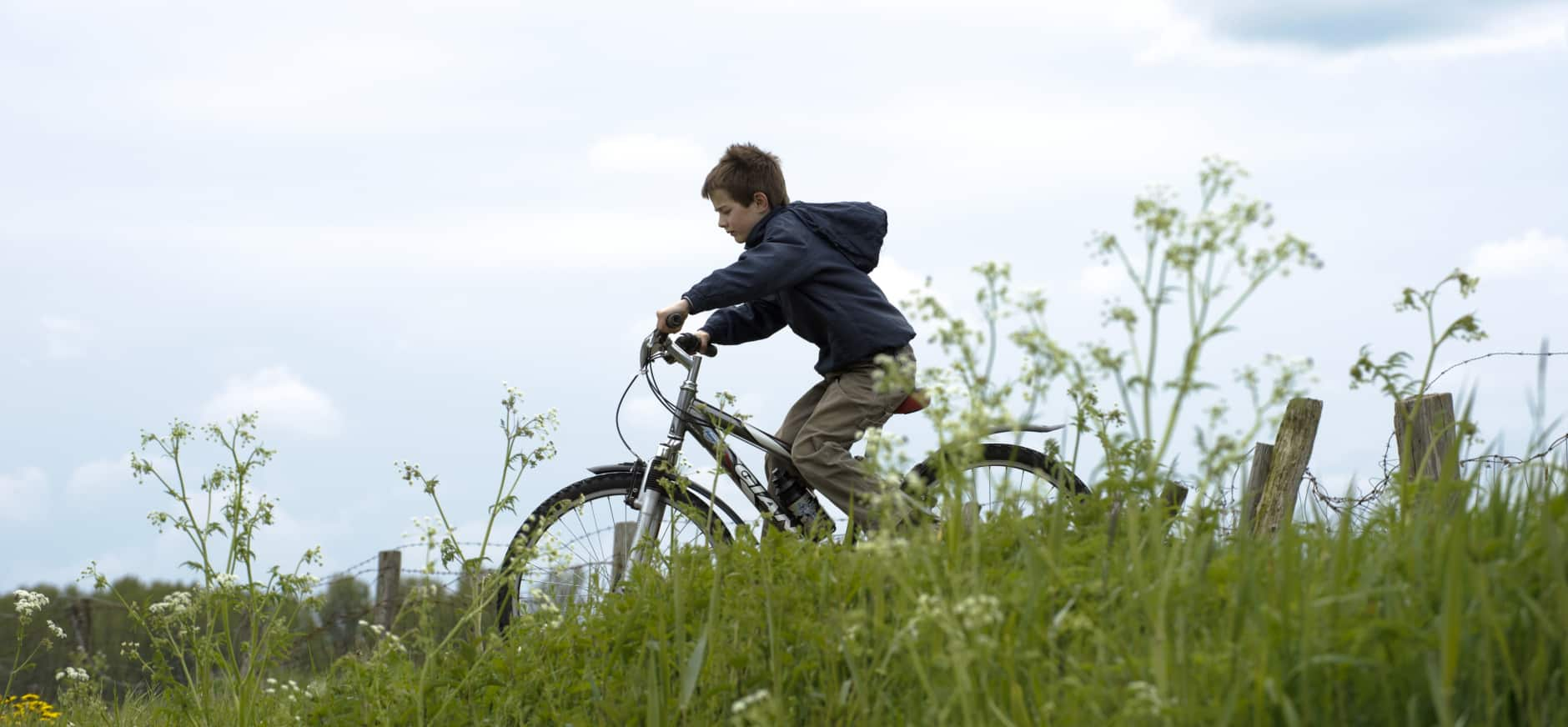 Maak een heel lange fietstocht