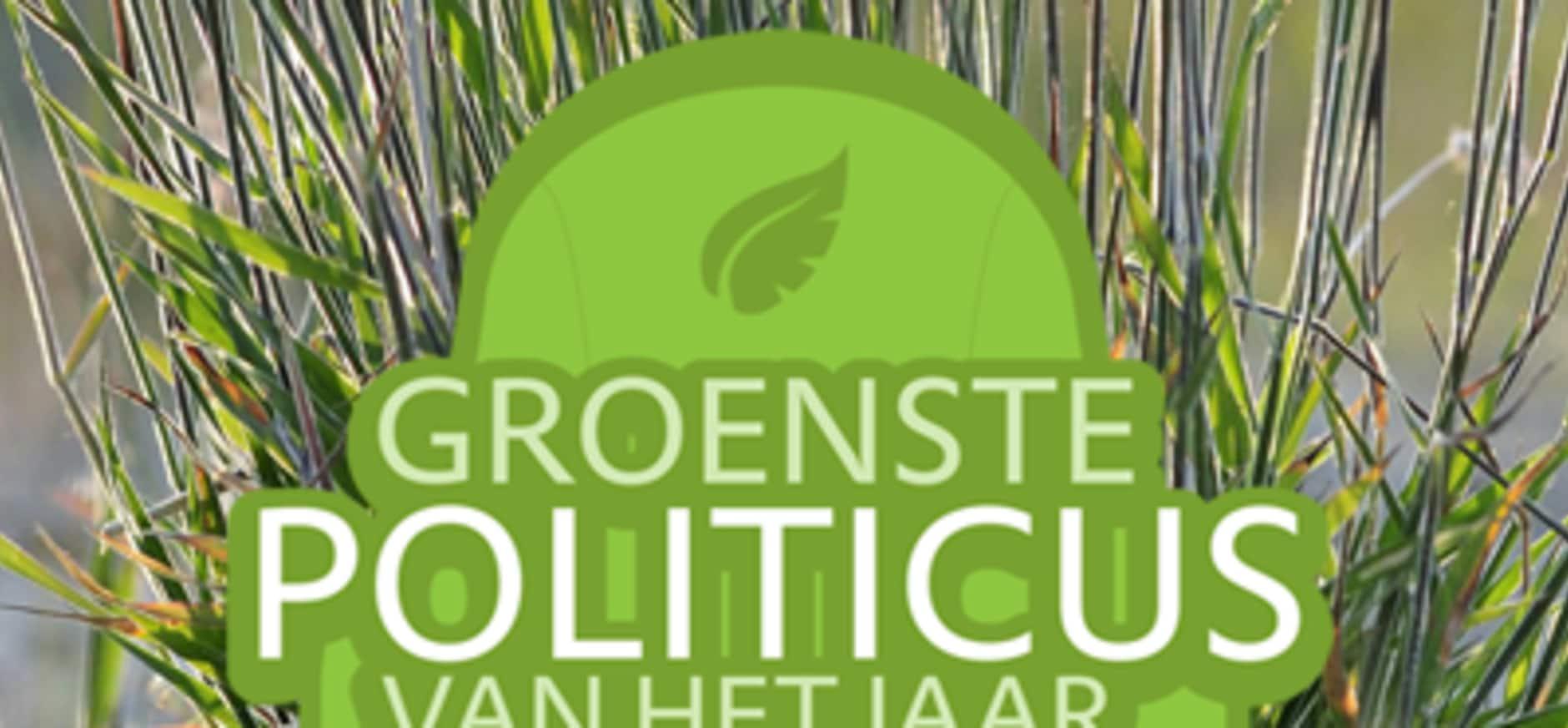 Verkiezing Groenste Politicus van 2015
