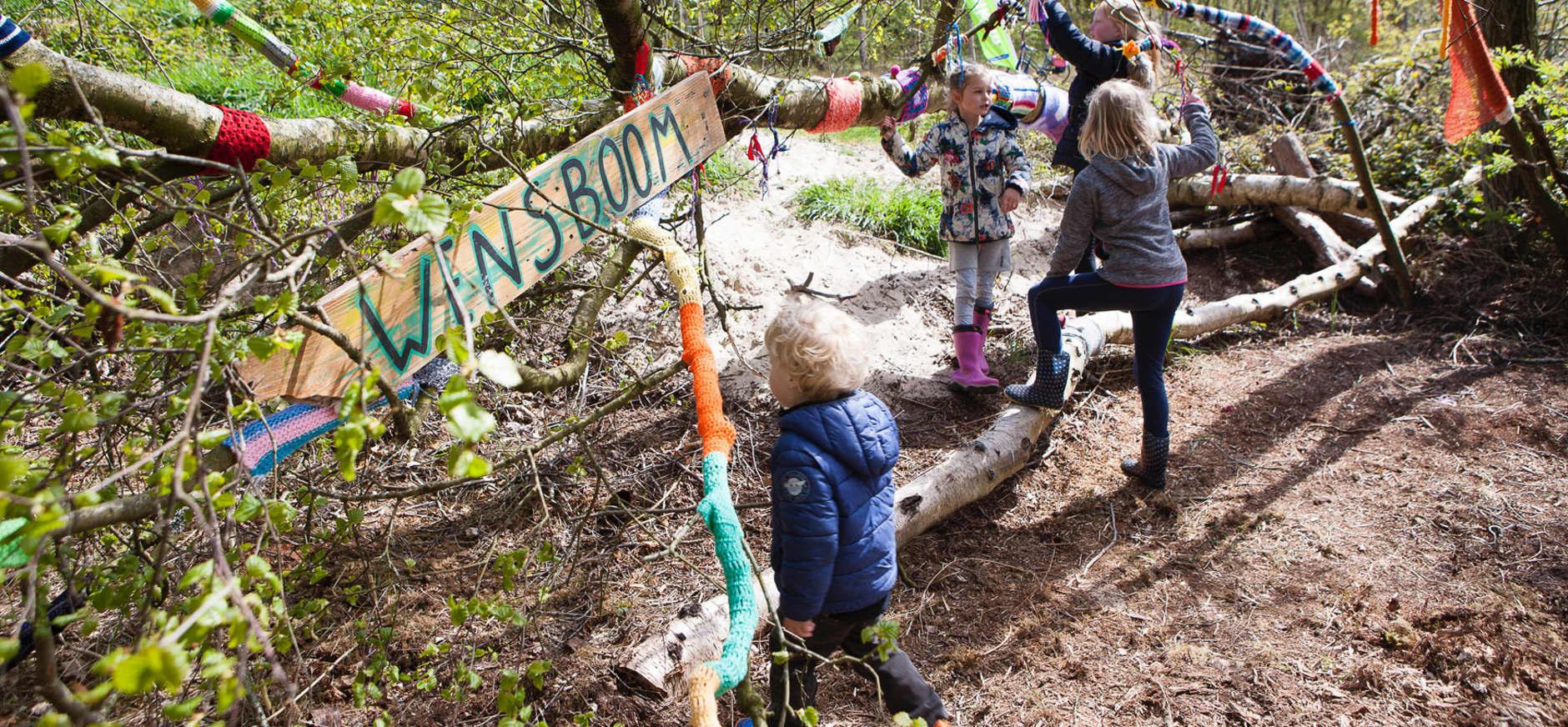 Feestelijke aftrap Speelnatuur op Schiermonnikoog