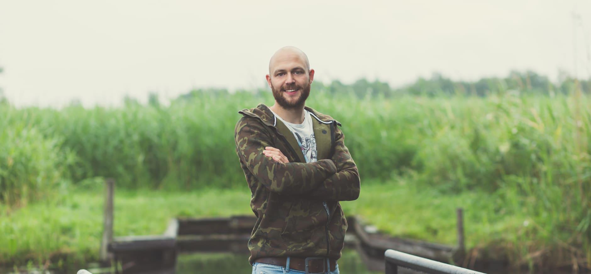 Jerome van Abbevé winnaar 'Boswachter Gezocht'
