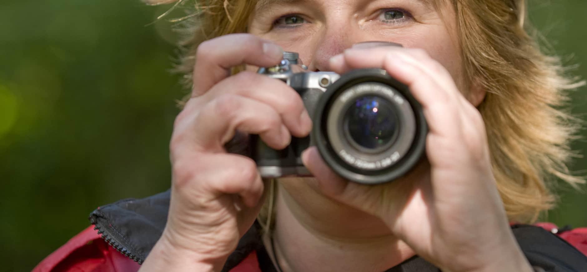Bescherm het landschap, maak een foto