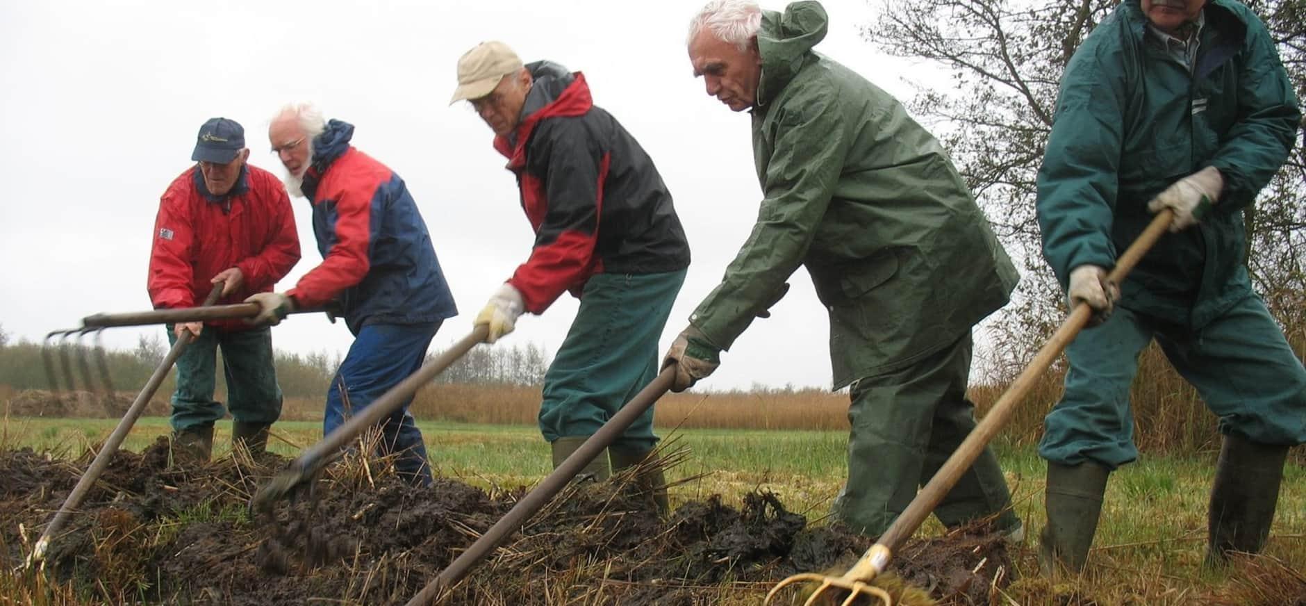 600 vrijwilligers op natuurwerkdag bij Natuurmonumenten