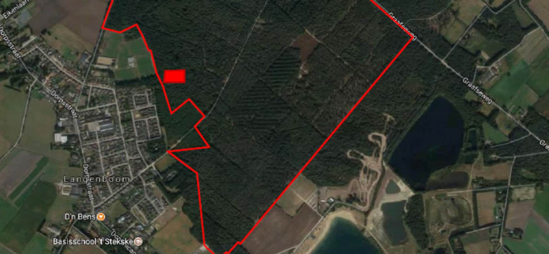 Start bodemsanering Langenboomse bossen