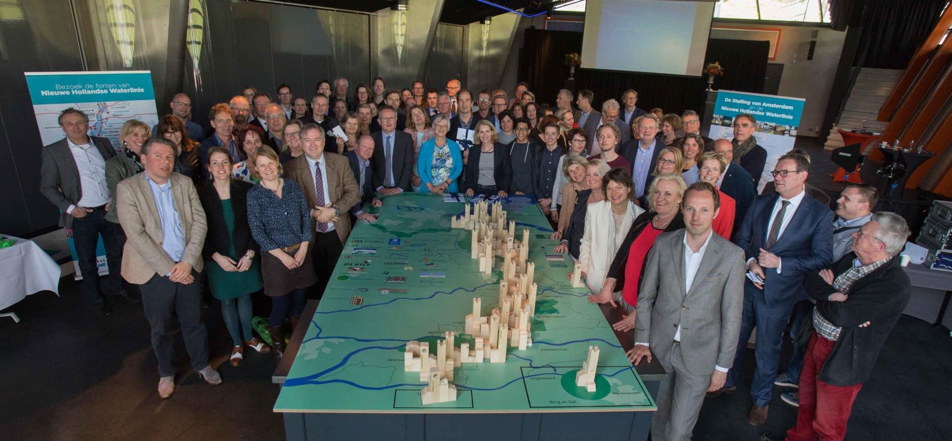 Natuurmonumenten steunt UNESCO-nominatie Nieuwe Hollandse Waterlinie