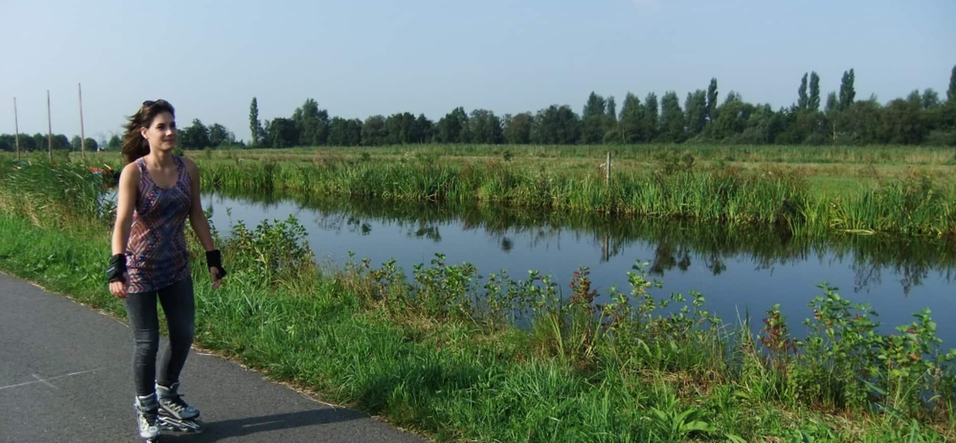 Nieuw: Skeelerroute door Midden-Delfland, bij Rotterdam