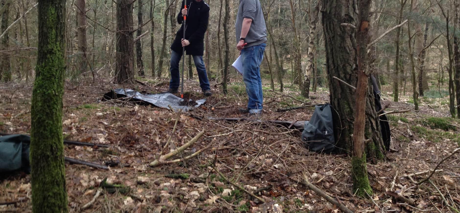 Studenten archeologie doen bijzondere vondsten op Sprengenberg