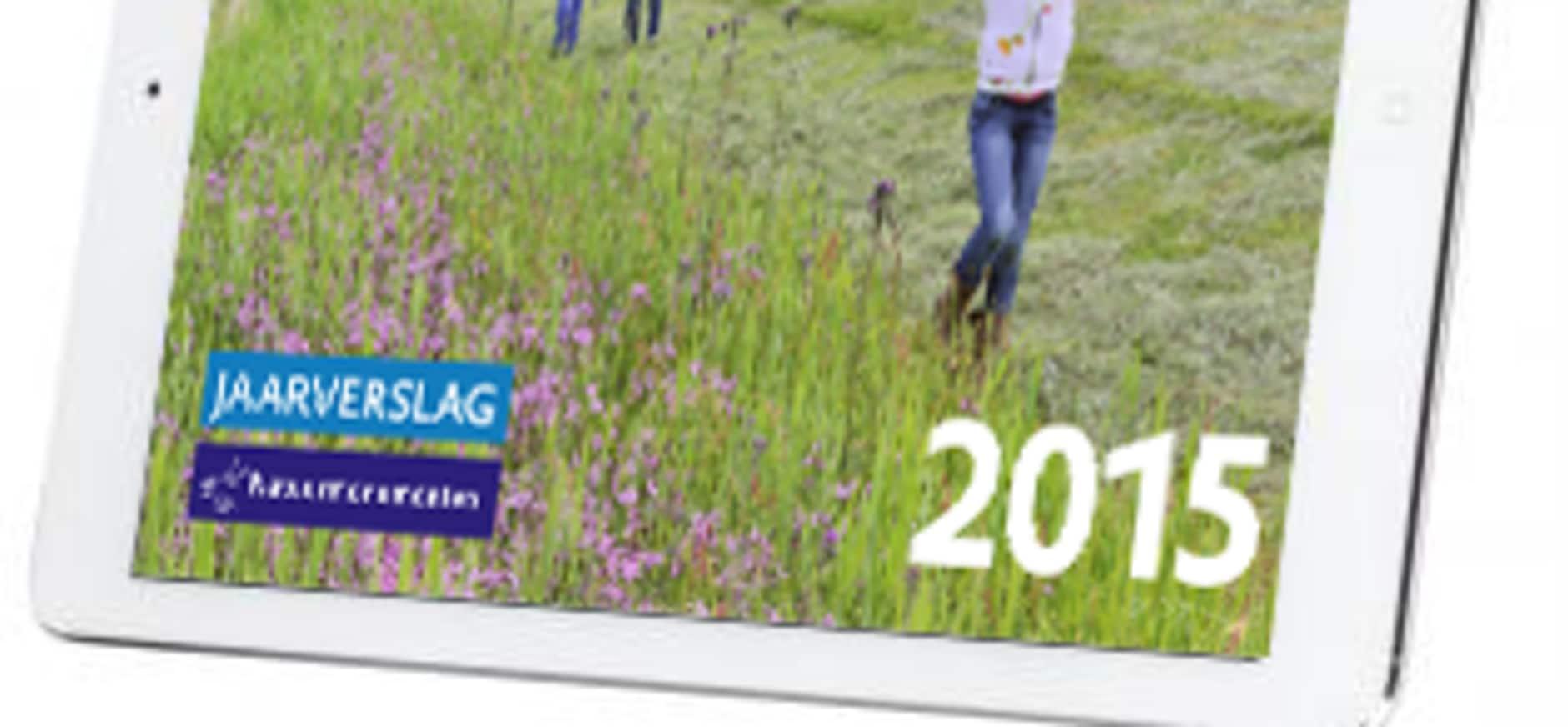 Bekijk het jaarverslag van 2015